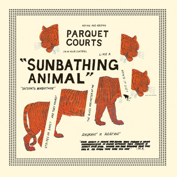 Sunbathing Animal (US) - Plak