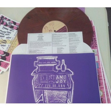 Amo Joy (Burgundy Vinyl) - Plak