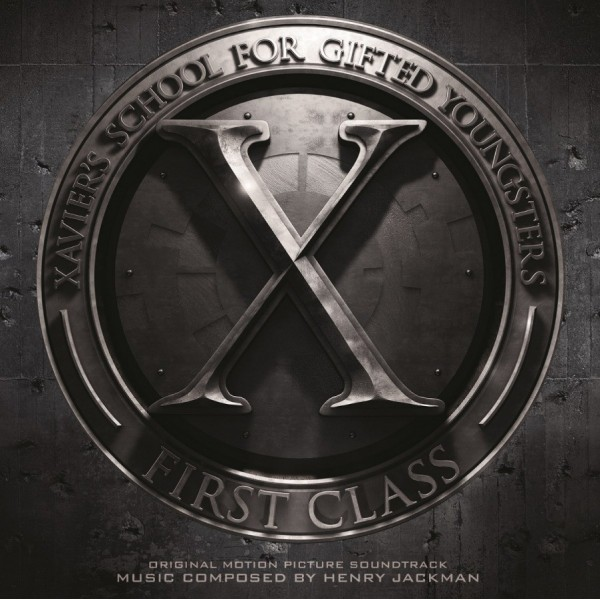 X-Men First Class Soundtrack (Numbered Limited Edition Silver Vinyl) - Plak