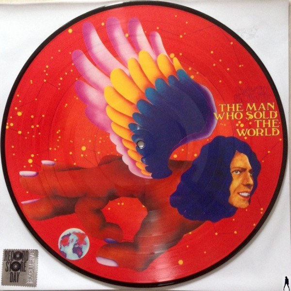 The Man Who Sold The World (Limited Edition Picture Disc) - Plak