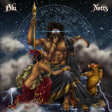 Gods In The Spirit (Blue Vinyl) - Plak